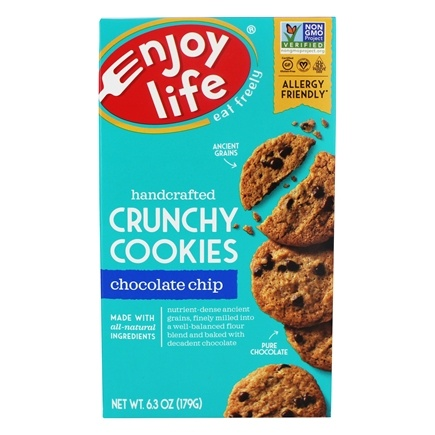 Enjoy Life Foods - Crunchy Cookies Chocolate Chip - 6.3 oz.