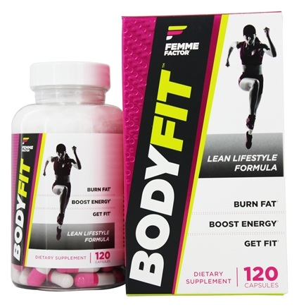 DROPPED: Femme Factor - BodyFit Lean Lifestyle Formula - 120 Capsules