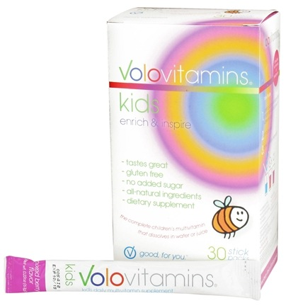 DROPPED: Volo Vitamins - VoloKids Daily Multivitamin Mixed Berry Flavor - 30 Stick(s) CLEARANCE PRICED