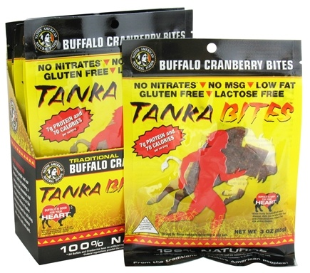 DROPPED: Tanka Bar - Buffalo Cranberry Bites - 3 oz.