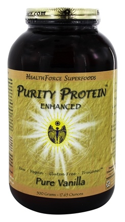 HealthForce Nutritionals - Purity Protein Enhanced Pure Vanilla - 500 Grams