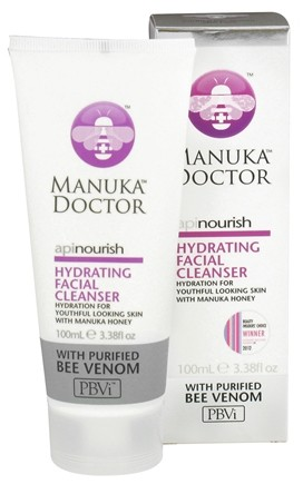 DROPPED: Manuka Doctor - ApiNourish Hydrating Facial Cleanser With Purified Bee Venom - 3.38 oz. CLEARANCE PRICED