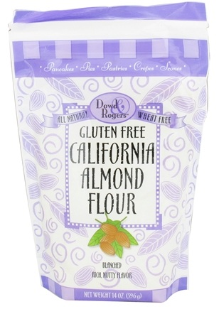DROPPED: Dowd and Rogers - Dowd & Rogers Gluten-Free California Almond Flour - 14 oz. CLEARANCE PRICED