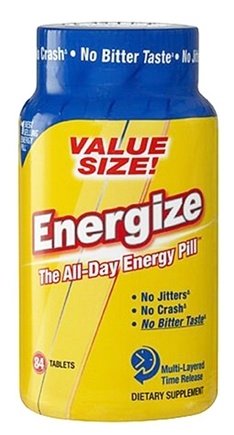 DROPPED: iSatori - Energize All-Day Energy Pill Value Size - 84 Tablets