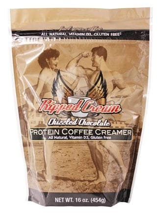 DROPPED: Ripped Cream - Protein Coffee Creamer Chizzled Chocolate - 16 oz.