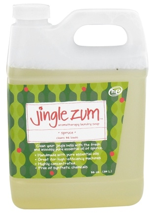 DROPPED: Indigo Wild - Jingle Zum Aromatherapy Laundry Soap Spruce - 32 oz.