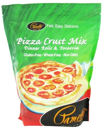DROPPED: Pamela's Products - Pizza Crust Mix Gluten Free - 4 lbs.