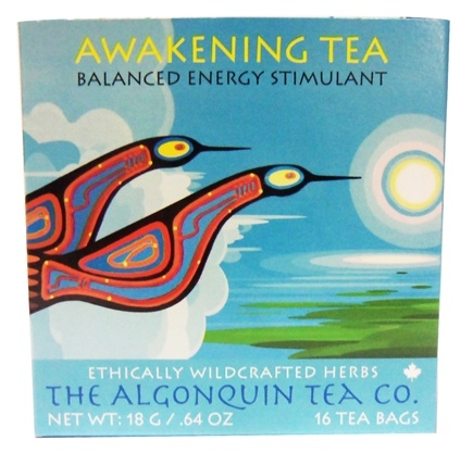 DROPPED: The Algonquin Tea Co. - 100% Certified Organic Herb Awakening Tea - 16 Tea Bags CLEARANCE PRICED