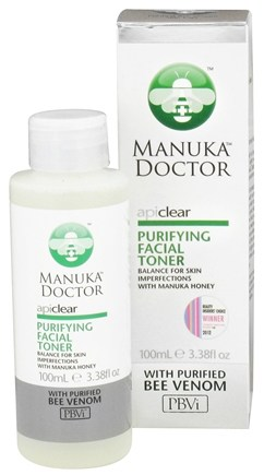 DROPPED: Manuka Doctor - ApiClear Purifying Facial Toner With Purified Bee Venom - 3.38 oz. CLEARANCE PRICED