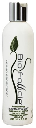 Bio Follicle - Hair Support System Vegan Conditioner Sulfate-Free Rosemary & Mint - 8 oz.