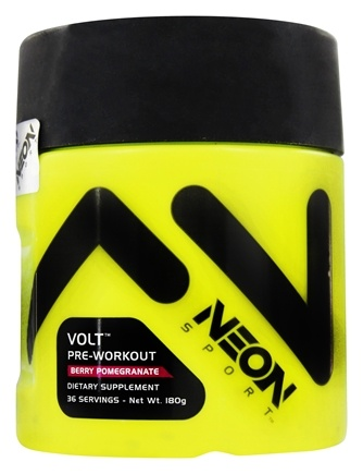 DROPPED: Neon Sport - Volt Pre-Workout Berry Pomegranate 36 Servings - 180 Grams