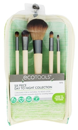 Eco Tools - Six Piece Day-To-Night Cosmetic Brush Set