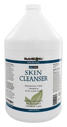 Nutribiotic - Non-Soap Skin Cleanser Original Fragrance Free - 1 Gallon