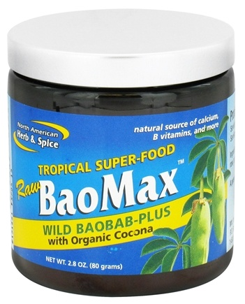 DROPPED: North American Herb & Spice - Tropical Superfood Raw BaoMax Powder - 2.8 oz. CLEARANCE PRICED