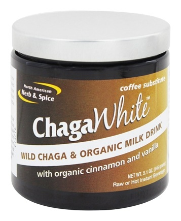 DROPPED: North American Herb & Spice - ChagaWhite Coffee Substitute - 5.1 oz.