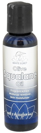 DROPPED: White Egret - Olive Squalane Oil - 2 oz. CLEARANCE PRICED