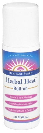 DROPPED: Heritage - Herbal Heat Roll-On - 3 oz. CLEARANCE PRICED