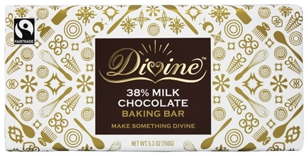 DROPPED: Divine - 38% Milk Chocolate Baking Bar - 5.3 oz.