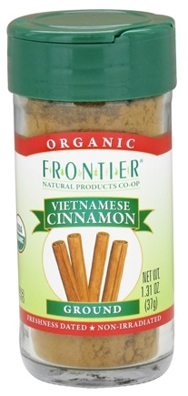 DROPPED: Frontier Natural Products - Organic Ground Vietnamese Cinnamon - CLEARANCE PRICED