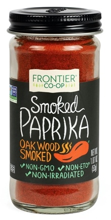 Frontier Natural Products - All-Natural Ground Smoked Paprika - 1.87 oz.