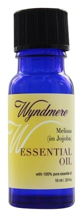 Wyndmere Naturals - Essential Oil Melissa in Jojoba Oil - 0.33 oz.