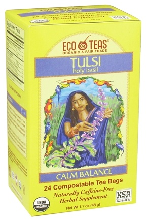 DROPPED: Eco Teas - Organic Tulsi Holy Basil - 24 Tea Bags
