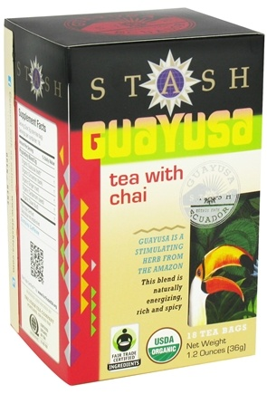 DROPPED: Stash Tea - Guayusa with Chai - 18 Tea Bags