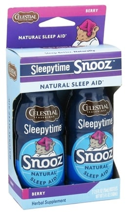 DROPPED: Celestial Seasonings - Sleepytime Snooz Natural Sleep Aid Berry - 5 oz.