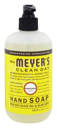 Mrs. Meyer's - Clean Day Liquid Hand Soap Sunflower - 12.5 oz.