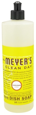 DROPPED: Mrs. Meyer's - Clean Day Liquid Dish Soap Sunflower - 16 oz.