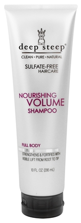 Deep Steep - Nourishing Volume Shampoo - 10 oz.