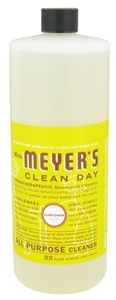 DROPPED: Mrs. Meyer's - Clean Day All Purpose Cleaner Sunflower - 32 oz.