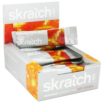 DROPPED: Skratch Labs - Exercise Hydration Mix Oranges - 20 x .8 oz. Packets - CLEARANCE PRICED