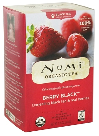 DROPPED: Numi Organic - Black Tea Berry - 16 Tea Bags