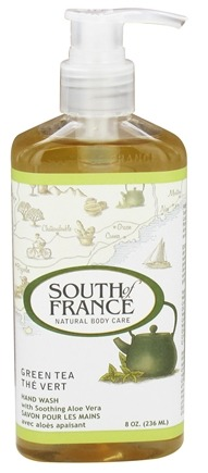 DROPPED: South of France - Hand Wash Green Tea - 8 oz.