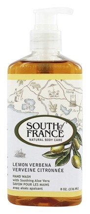 DROPPED: South of France - Hand Wash Lemon Verbena - 8 oz.