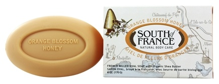 DROPPED: South of France - French Milled Vegetable Bar Soap Orange Blossom Honey - 6 oz.