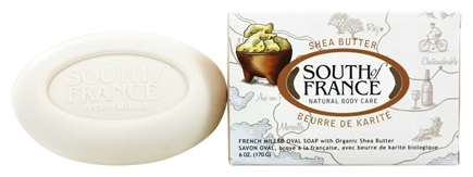 South of France - French Milled Vegetable Bar Soap Shea Butter - 6 oz.