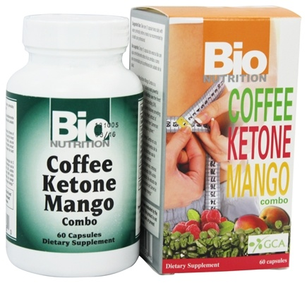 DROPPED: Bio Nutrition - Coffee Ketone Mango Weight Loss Combo - 60 Capsules