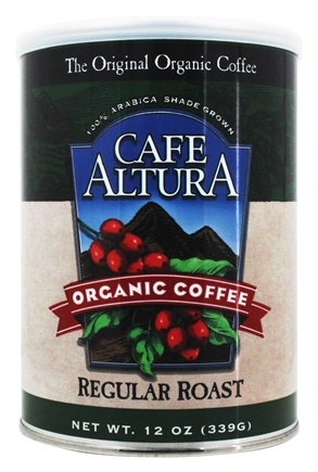 Cafe Altura - Organic Coffee Regular Roast - 12 oz.