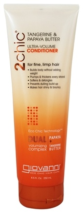 Giovanni - 2Chic Tangerine & Papaya Butter Ultra-Volume Conditioner - 8.5 oz.