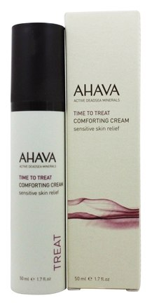 AHAVA - Time To Treat Comforting Cream Sensitive Skin Relief Fragrance Free - 1.7 oz.