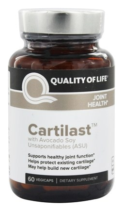 DROPPED: Quality Of Life Labs - Cartilast Cartilage & Joint Support - 60 Vegetarian Capsules