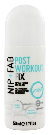 DROPPED: Nip+Fab - Post Workout Fix Topical Muscle Cooling Gel - 1.7 oz.