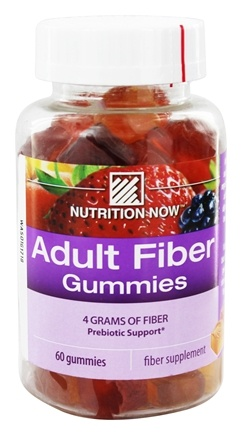 Nutrition Now - Fiber Gummies - 60 Gummies