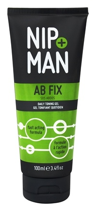 NIP+MAN - Ab Fix Daily Toning Gel - 3.4 oz.