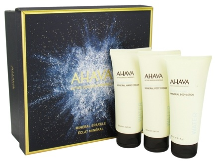 DROPPED: AHAVA - Mineral Sparkle Personal Care Set - 3 Piece(s) CLEARANCED PRICED