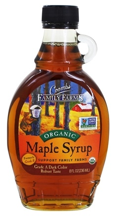 Coombs Family Farms - Organic Maple Syrup Grade B - 8 oz.