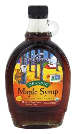 Coombs Family Farms - Organic Maple Syrup Grade B - 12 oz.