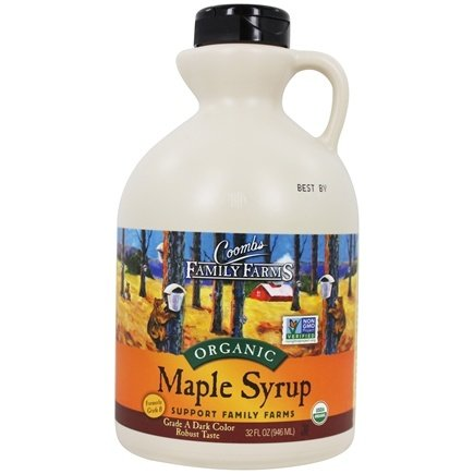 Coombs Family Farms - Organic Maple Syrup Grade B - 32 oz.